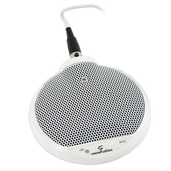 Soundsation - [BM-630W] MICROFONO BOUNDARY A CONDENSATORE
