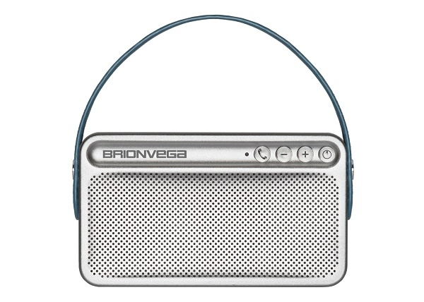 Brionvega - [WEAR-IT-B] Speaker Bluetooth portatile con Borsa color Blu