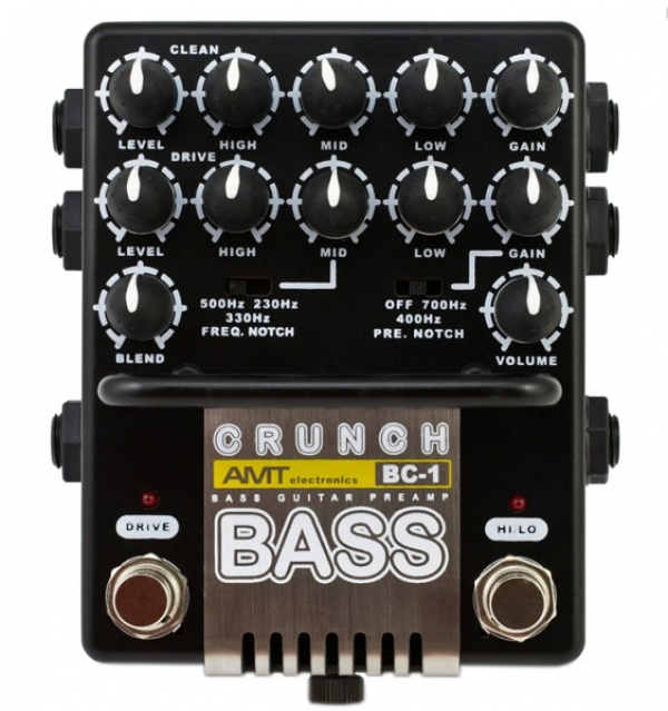 Amt Electronics - [AMT-BC-1] PREAMPLIFICATORE CRUNCH 2 CANALI PER BASSO