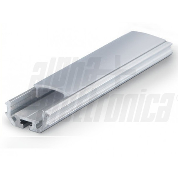 Alpha Elettronica - [LO379/082-2] Profilo di alluminio da 2 mt.