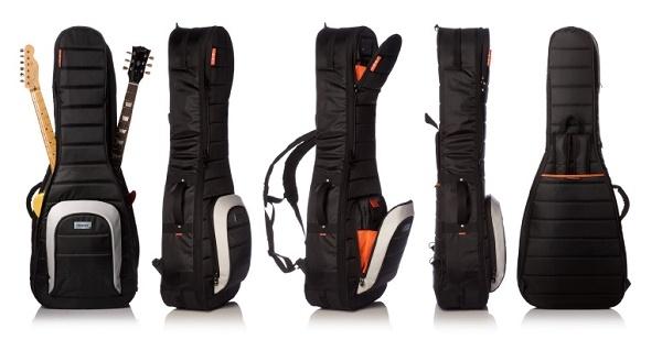 Mono - [M80-DUAL-GUIT] Custodia per chitarra elettrica, doppia