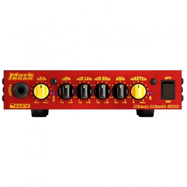 Markbass - [NANO-MARK-300] Testata 300 watt per basso