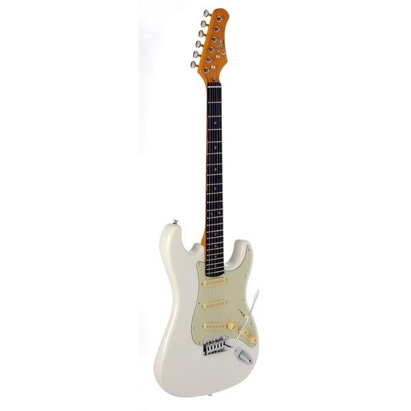 Eko - [S-300V-VINTAGE-WHITE] Chitarra elettrica solid body vintage style BIANCA