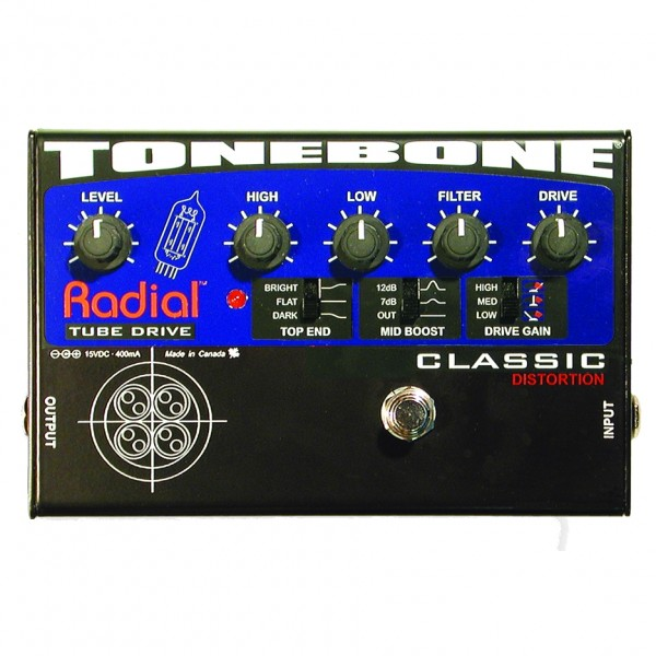 Radial - Tonebone Classic Tube Distortion