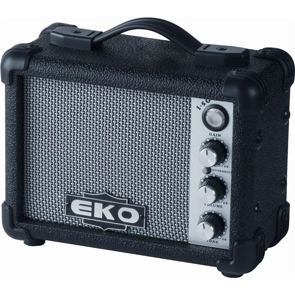 Eko - [I-5G-BLACK] Amplificatore a batteria per chitarra, 5watt