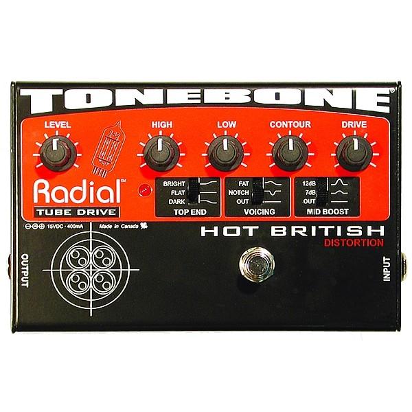 Radial - Tonebone Hot British Tube Distorsion