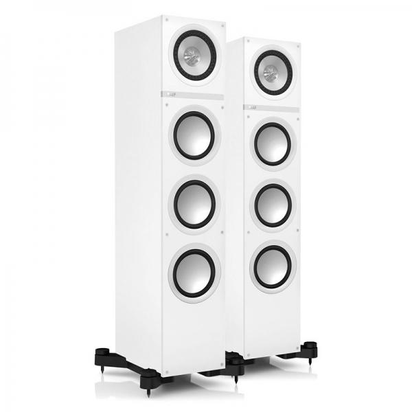 KEF - Serie Q - [Q500] Coppia di diffusori da pavimento bianchi
