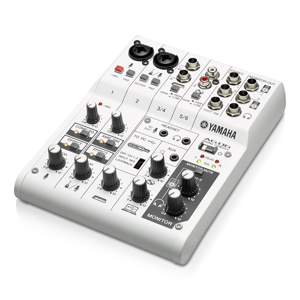 Yamaha - A Series - [AG06] Consolle mixer 6 ch.