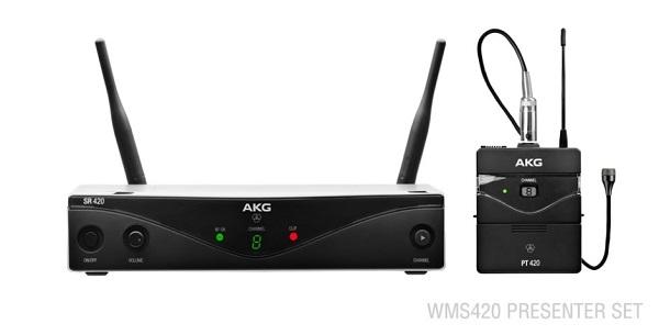 Akg - [WMS420-BD-B1] Sistema microfonico wireless 748.1 -751 - 751.9 MHZ