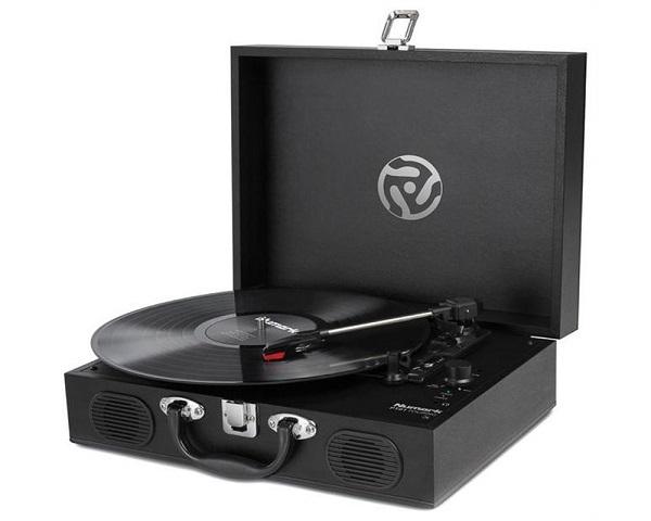 Numark pt01 touring giradischi portable - Valigia porta vinili ...