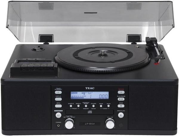 Teac - [LPR500] Sistema integrato giradischi, lettore cassette, cd recorder, radio