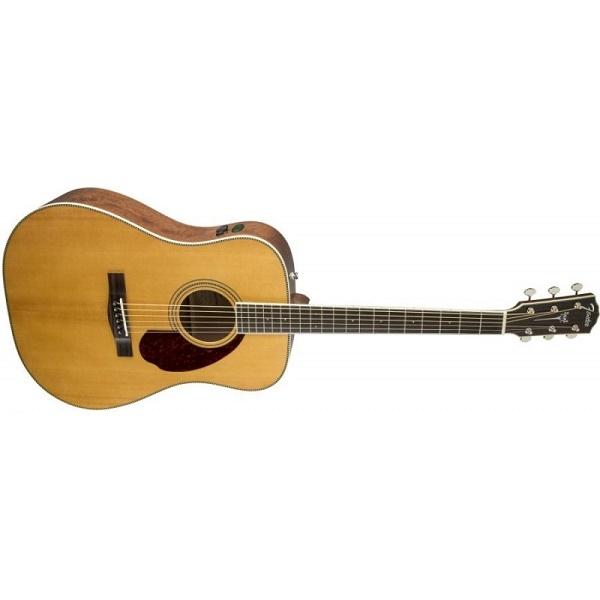 Fender - [PM-1-STANDARD] Chitarra acustica dreadnought natural,standard ed.