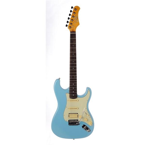 Eko - [S-350V] Chitarra elettrica Daphne blu
