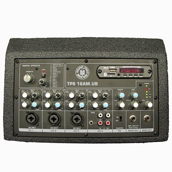 """Topp Pro - TPS 16 - [TPS 16AM.USB] Diffusore monitor attivo 6.5"""" a 2 vie 140W"""