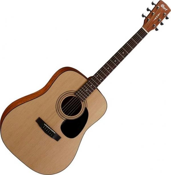 Cort - [AD810-OP] Chitarra acustica con borsa colore legno nat.