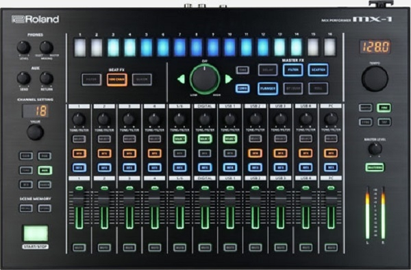 Roland - Aira - [MIX-1] Mixer sequenzer 18 canali