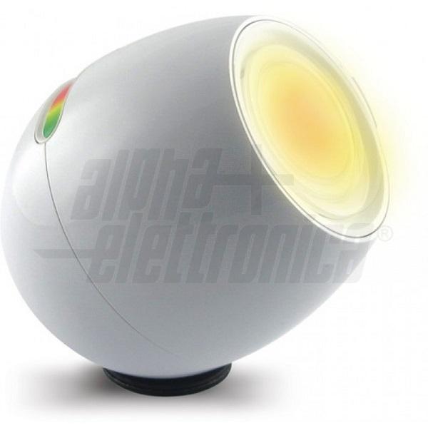 Alpha Elettronica - [JO383B] Lampada da tavolo Led decorativa RGB, colore Bianca