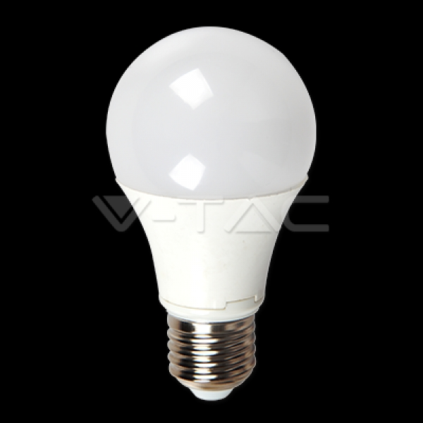 V-Tac - [VT-1918] LED BULB 5W E27 A60 THERMOPLASTIC WARM WHITE