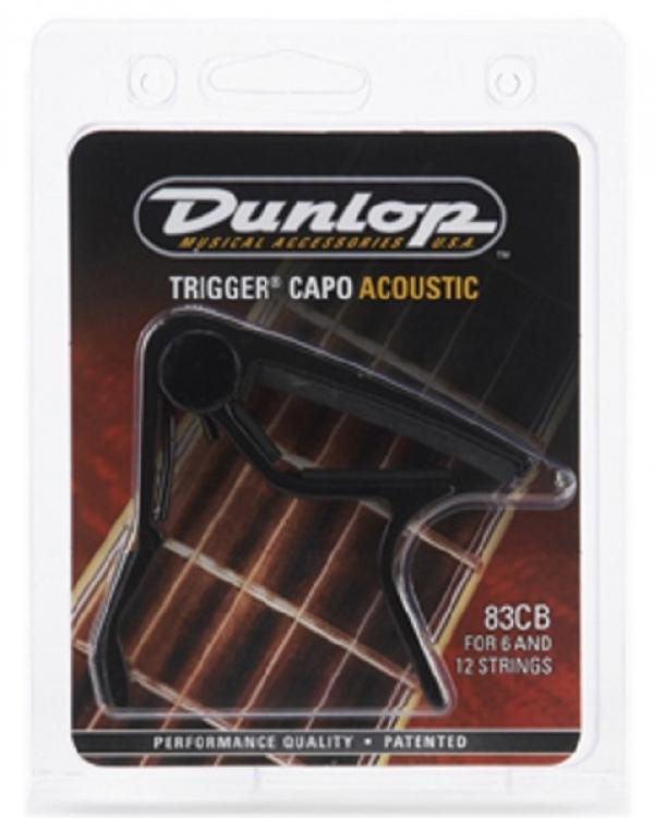 Dunlop - [83CB-CRV BLK-EA] Capotasto nero