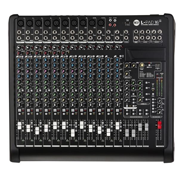 Rcf - LIVEPAD - [L-PAD16CX USB] Mixer 16 canali con effetti