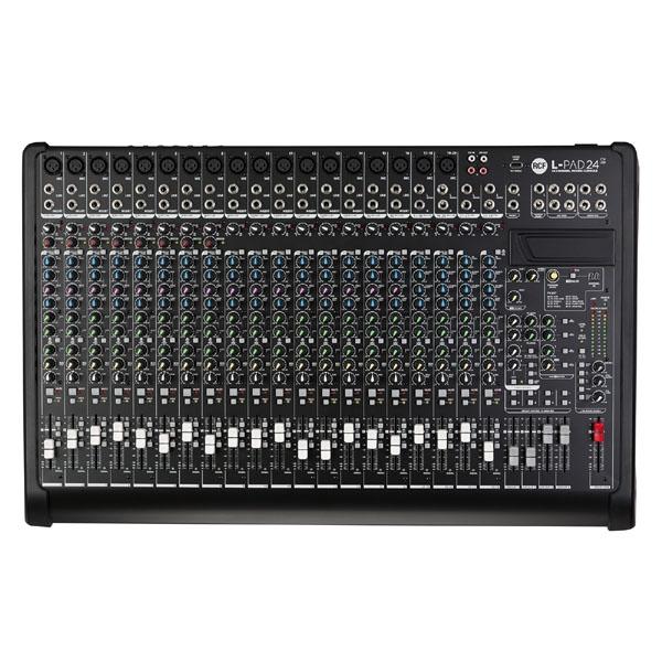 Rcf - LIVEPAD - [L-PAD24CX USB] Mixer 24 canali con effetti
