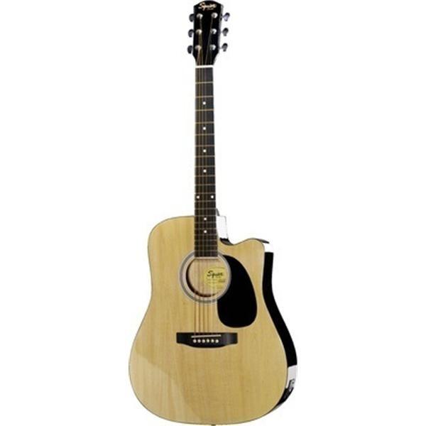 Fender - [0930307021-SA-105CE] Acustica dreadnought natural, cutway elettrificata