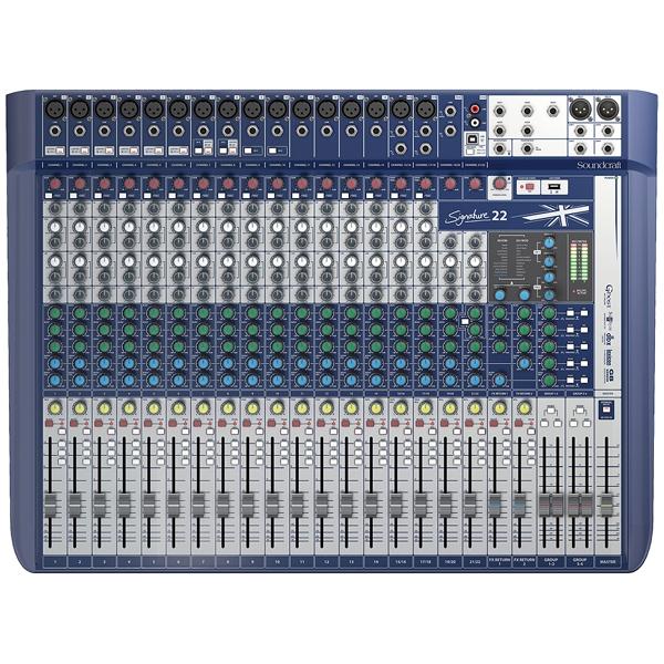 Soundcraft - [SIGNATURE 22] Mixer 22 canali con effetti