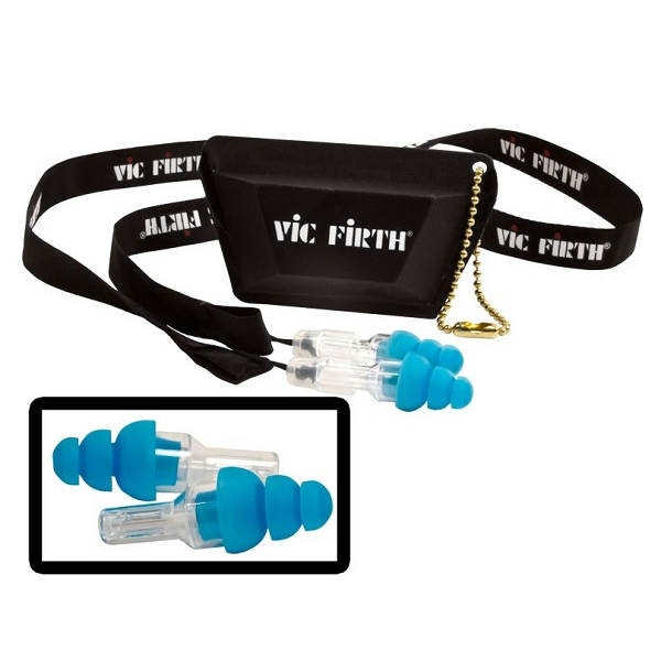 Vic Firth - [AC-EARPLUGR] Vic Firth AC-EARPLUGR Auricolari Regular Blue