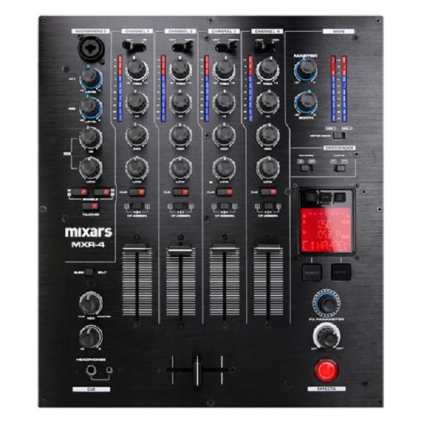 Mixars - [MXR4] Mixer 4 canali con eq/gain