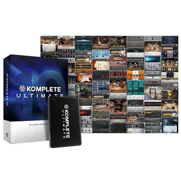 Native Instruments - [NI-KOMPLETE-10] Suite software native instruments