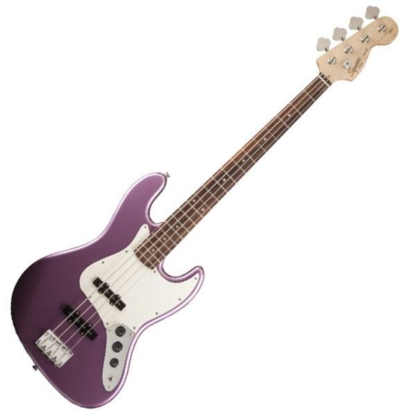 Fender - Squier Affinity - [0310760566] AFFINITY SERIES™ JAZZ BASS BURGUNDY MIST METALLIC