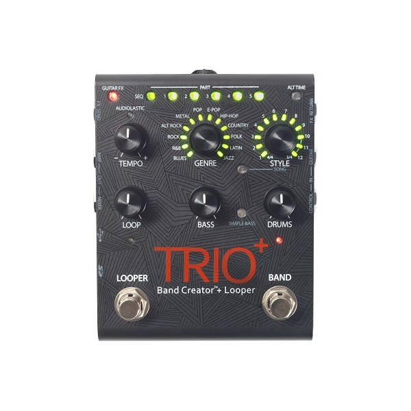 Digitech - Multi-Effetti - [TRIO+] Band Creator + Looper
