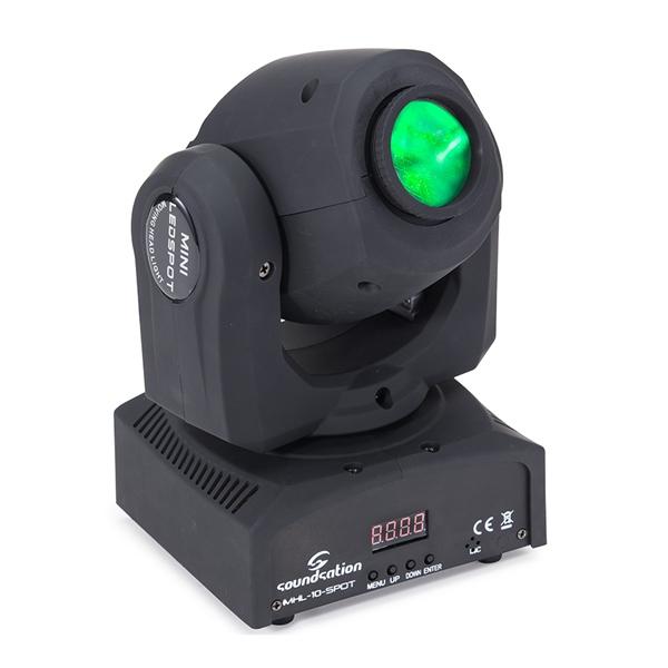 Soundsation - [MHL-10] Testa mobile SPOT LED 1X10W