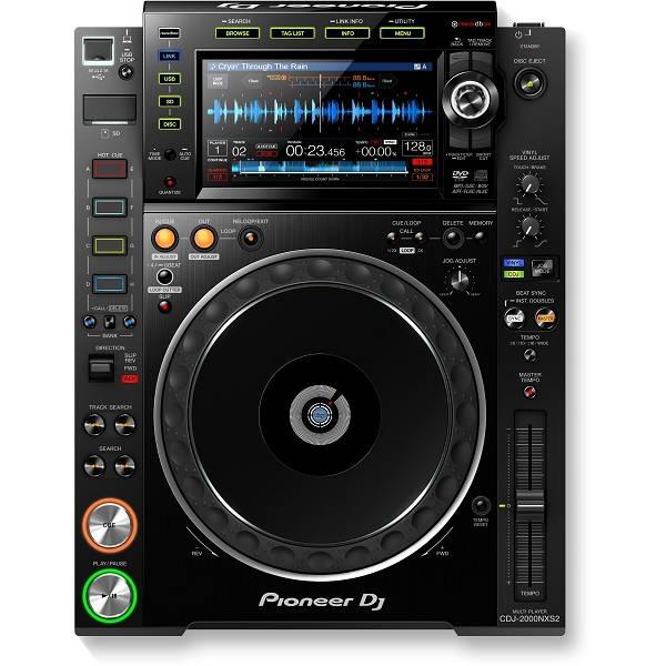 Pioneer - [CDJ-2000NXS2] Multilettore Pro-DJ con supporto dell'audio ad alta risoluzione