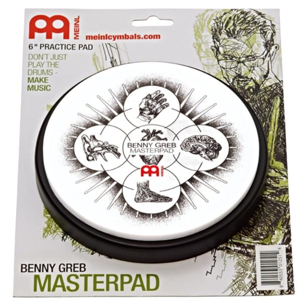 "Meinl - MPP-6-BG Allenatore Masterpad 6"" Benny Greb"