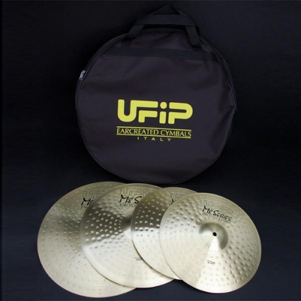 "Ufip - M8 - SET: Crash 16"" + Ride 20"" + Hi Hat 14"" + Bag"