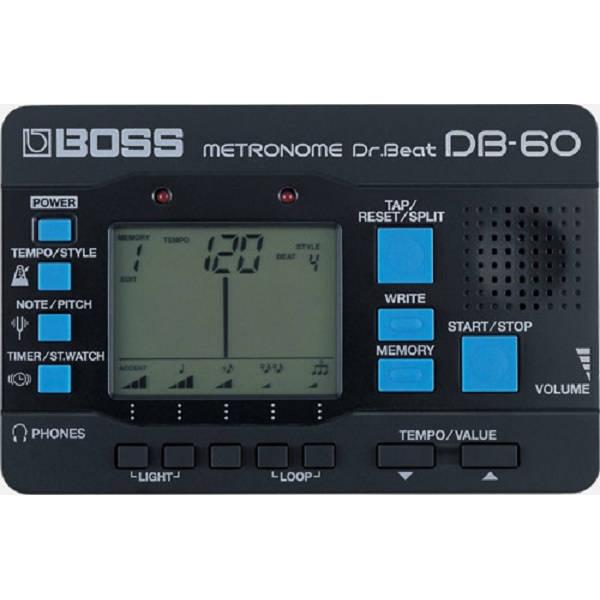 Boss - DB-60 Metronomo digitale portatile