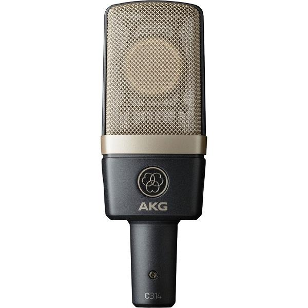 Akg - [AKG C314] Microfono a condensatore, multipolare