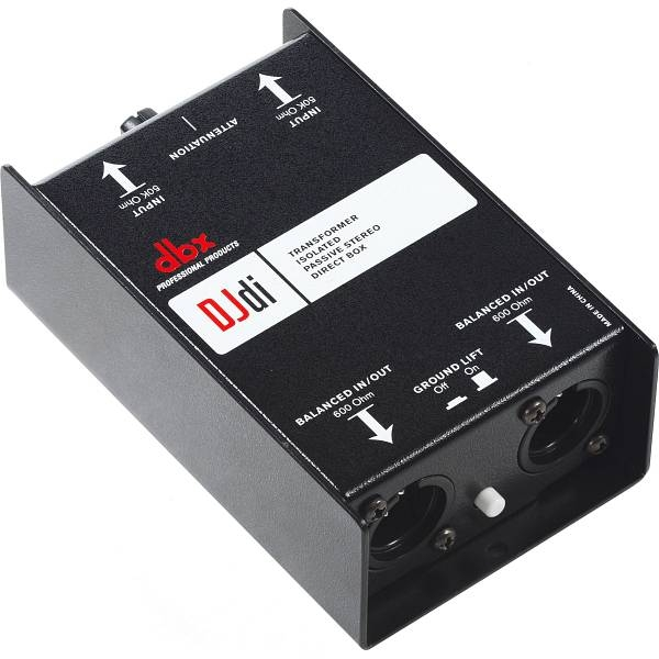 DBX - [DBX DJDI] DI BOX 2 canali, passiva