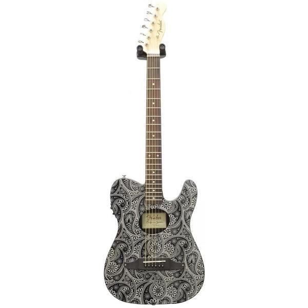 Fender - [0968715016 FSR STD] Standard Telecoustic RW Black Paisley
