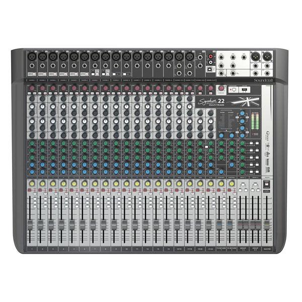 Soundcraft - [SIGNATURE 22MTK] Mixer 22 canali con effetti