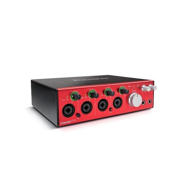 Focusrite - CLARETT 4PRE Scheda audio audio 18 in/out, thunderbolt