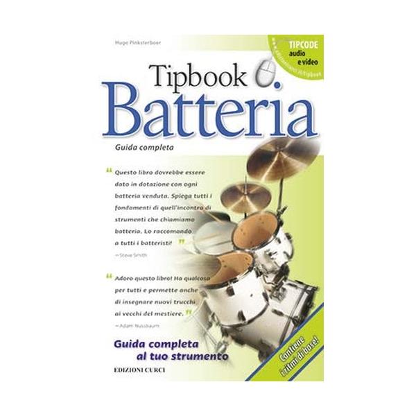 Curci Edizioni - Tipbook - Batteria (9788863951455)