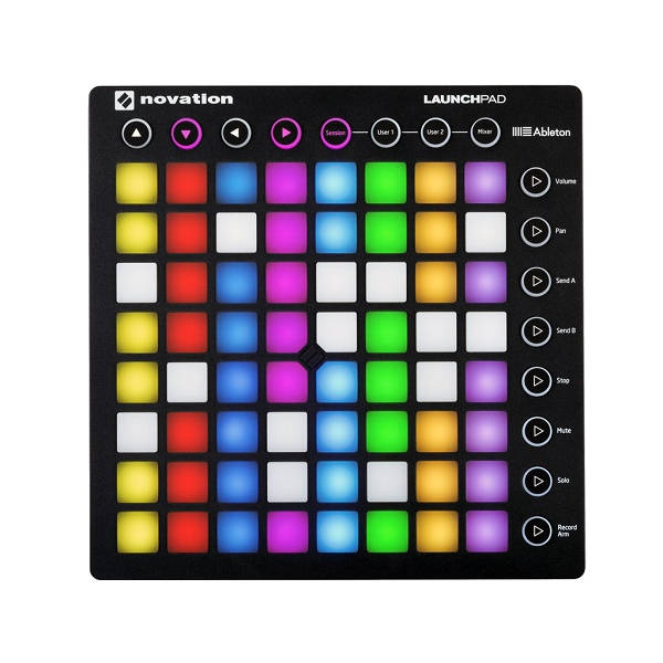 Novation - [Launchpad Mk2] Controller per ableton live, 64 pad rgb