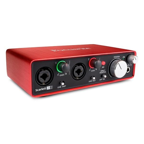 Focusrite - SCARLETT 2i2 2'GENERAZIONE Scheda Audio