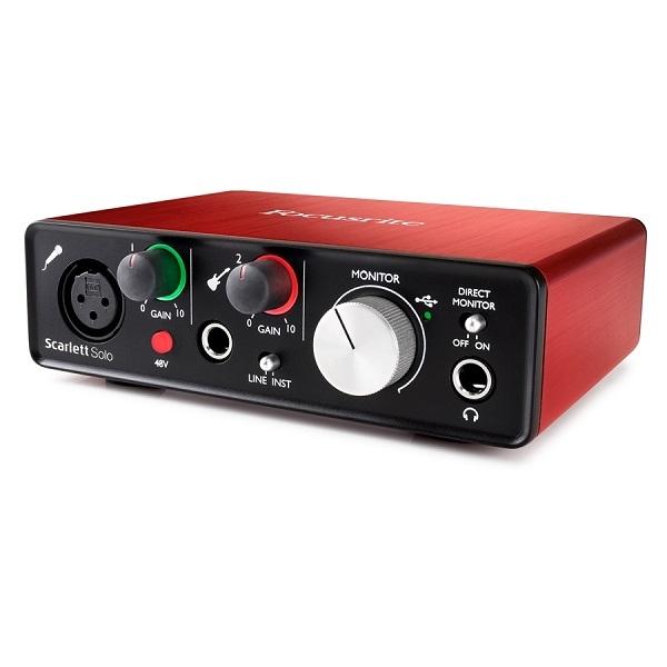 Focusrite - SCARLETT SOLO Scheda Audio