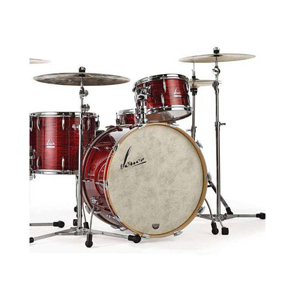 Sonor - [VT16-3-22-VRO] Batteria Vintage Series Red Oyster