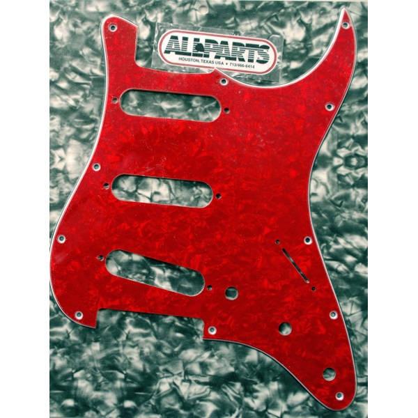 Allparts - [PG0552-056] BATTIPENNA STRATO RED PEARLOID