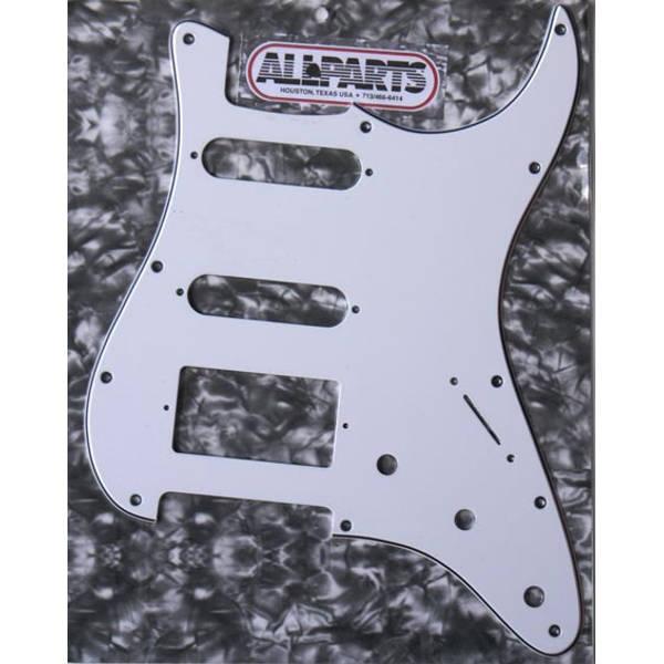 Allparts - [PG0995-035] BATTIPENNA STRATO BIANCO S/S/H