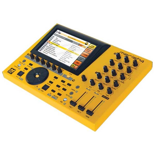 M-Live - [MERISH4] Workstation touch screen per file e basi musicali MIDI/MP3